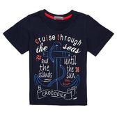 『小鱷魚童裝』貼鑽印花T恤(02號~10號)369405