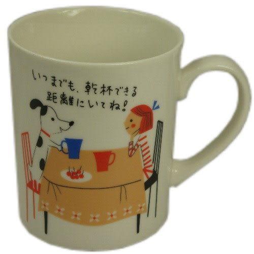 Shinzi Katoh heart warming collection 小孩&dog馬克杯(含運價)