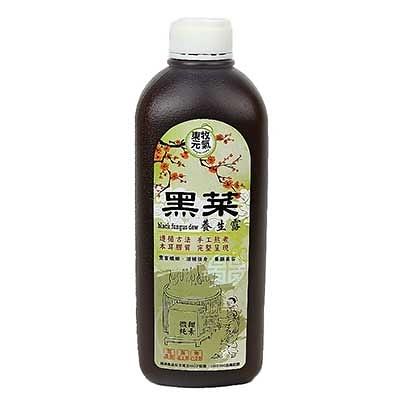 黑菜養生露  微甜配方 (1000ml) 12瓶  天然黑木耳 純素