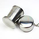 【03585】不鏽鋼摺疊水杯 收納旅行 漱口杯 伸縮杯 露營