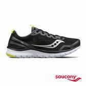 SAUCONY LITEFORM FEEL 輕運動休閒鞋-經典黑x灰