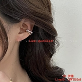 【買一送一】珍珠耳骨夾無耳洞女新款潮氣質耳環高級感耳夾耳飾【CH伊諾】