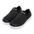 PLAYBOY 彩織時尚 超輕量針織襪套休閒鞋-黑