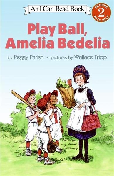 (二手書)An I Can Read Book Level 2: Play Ball, Amelia Bedelia