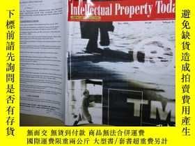 二手書博民逛書店Intellectual罕見Property Today,TOP