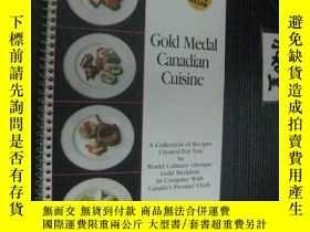 二手書博民逛書店英文原版罕見Gold medal canadian cuisin