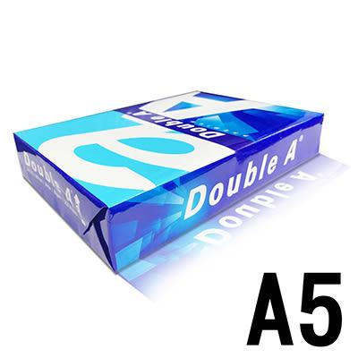 Double A A5 80gsm雷射噴墨白色影印紙500入* 2包 為A4尺寸的一半