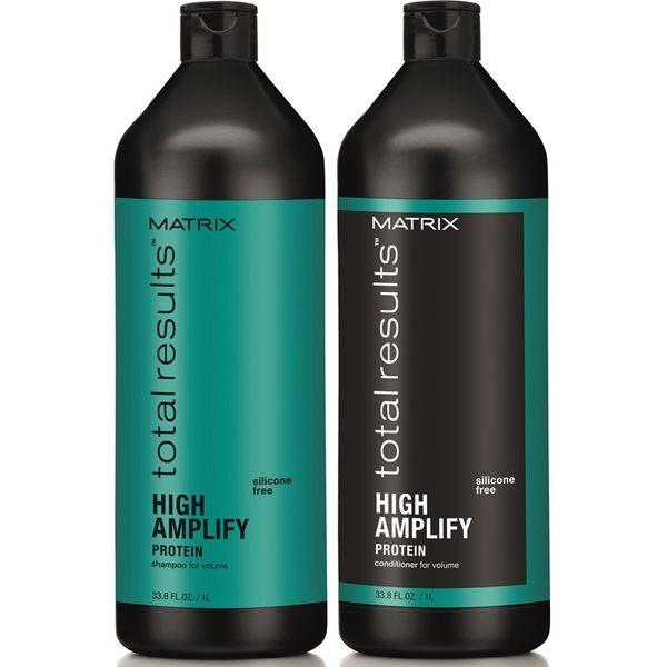 【特惠組合】MATRIX 美傑仕 摩天高系列- 摩天高洗髮精+摩天高護髮乳 1000ml