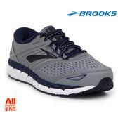 【BROOKS】男款支撐型慢跑鞋 4E 超寬楦 BEAST 18 -灰色(824E015)-全方位跑步概念館