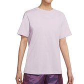 Nike AS W NSW Essntl SS Top BF 女 紫 刺繡 小勾 休閒 短袖 DH4256-576