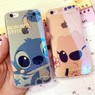 情侶史迪奇藍光TPU 蘋果iphone64.7寸/6splus軟殼卡通手機殼