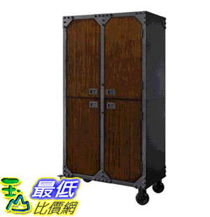 [COSCO代購] W1146618 Whalen 工業風儲物櫃 Whalen Industrial Metal and Wood Cabinet