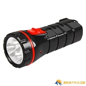 LED家用充電式手電筒露營便攜照明袖珍迷你小手電筒【勇敢者戶外】