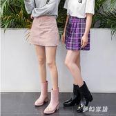 雨靴女成人防水韓版時尚款外穿雨鞋中筒女士水鞋防滑水靴 QW8988『夢幻家居』