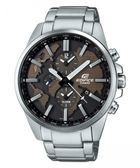 卡西歐CASIO EDIFICE賽車錶(ETD-300D-5A)咖啡色面/46mm/原廠公司貨