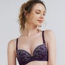 U&Z EASY SHOP-奢戀圓舞曲 美背款B-E罩內衣(貴族紫)