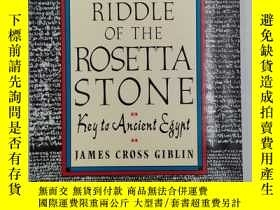 二手書博民逛書店The罕見Riddle of the Rosetta Stone