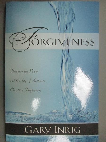 【書寶二手書T8/宗教_KDA】Forgiveness: Discover the Power and REality