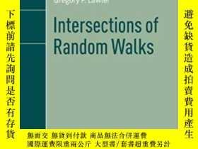 二手書博民逛書店Intersections罕見Of Random Walks-隨機遊動的交點Y436638 Gregory F