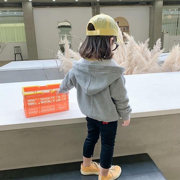 女童上衣 女童外套連帽2021春裝新款洋氣韓版童裝兒童洋氣春秋上衣【快速出貨八折鉅惠】