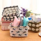 ✭米菈生活館✭【Y72】手提棉麻收納筐 桌面 雜物 玩具 文具 辦公 工具 布藝 擺飾 閨密 禮物