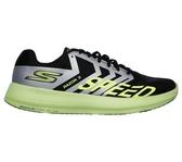 SKECHERS GO RUN RAZOR 3 [55220BKLM] 男鞋 運動 慢跑 輕量 透氣 休閒 中性 黑綠