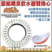 ◆MIX 米克斯◆PettyMan .節能寵物噴泉飲水器 濾心【一盒三入】活性碳濾心,飲水