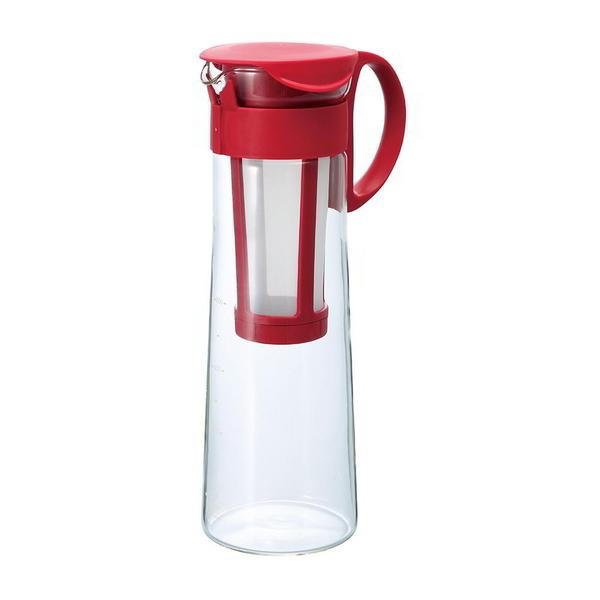 日本HARIO 紅色冷泡咖啡壺1000ml