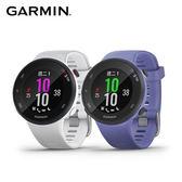 Garmin Forerunner 45S GPS腕式光學心率跑錶-白珍晝白