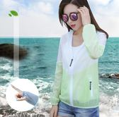 2018夏季新款短款防曬衣女學生服韓版薄款寬鬆長袖防曬衫外套潮bf   初見居家