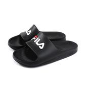 FILA 拖鞋 戶外 防水 女鞋 黑色 4-S355Q-001 no046