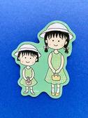 【震撼精品百貨】CHIBI MARUKO CHAN_櫻桃小丸子~小丸子造型貼紙-小丸子與姊姊#57649