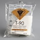 金時代書香咖啡 CAFEC 三洋 T-90 錐形漂白中深烘專用濾紙 01 1-2人用 100入/包 CFD-01-T-90-100W