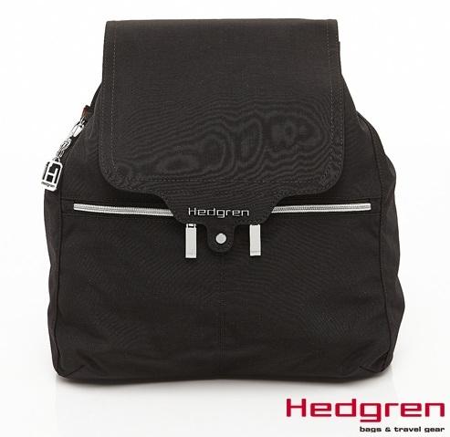 Backbager 背包族【比利時Hedgren】HSUB-地鐵系列-後背包(黑)