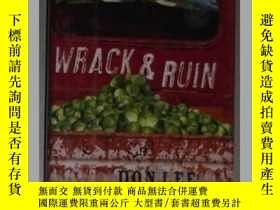 二手書博民逛書店英文原版罕見Wrack and Ruin by Don Lee