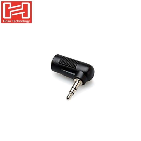 又敗家HOSA音源線轉接器GMP-272直角轉接器公3.5mm轉公3.5mm 麥克風轉接頭TRS立體聲轉單聲道轉接座