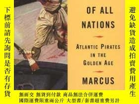 二手書博民逛書店Villains罕見of All Nations: Atlantic Pirates in the Golden