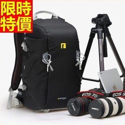 相機包-多功能防水帆布雙肩攝影包3色68ab35【時尚巴黎】