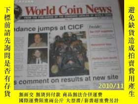 二手書博民逛書店World罕見Coin News(Vol.26,No.5)(Ma