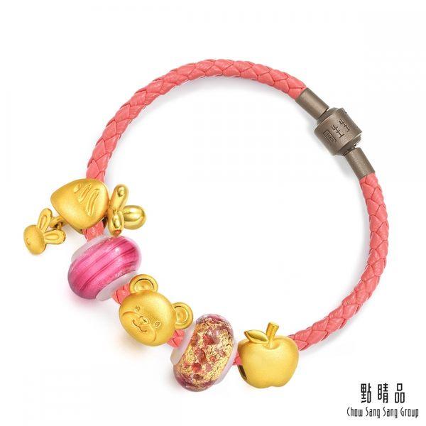 點睛品 Charme Murano Glass動物農場限量版 黃金串珠