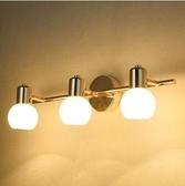 led鏡前燈鏡櫃燈衛生間洗手間簡約壁燈防水防潮防霧鏡畫燈飾燈具【主圖款】