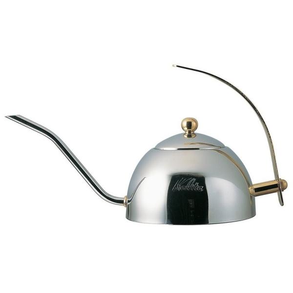 【沐湛咖啡】Kalita 不鏽鋼 細口手沖壺 600s 點滴壺 日本製 COFFEE DRIP POT