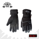 【SNOW TRAVEL 防水透氣高檔手套《黑》】AR-72/雪地/滑雪/手套/防寒手套/保暖/機車