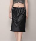 基本必備款  緞面A版長款襯裙(55cm)  [黑 白] 兩色售 11770012