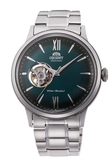 [Y21潮流精品] 新款!ORIENT 東方錶 SEMI-SKELETON系列 鏤空機械錶 鋼帶款 綠色 RA-AG0026E