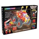 《 LASER PEGS 》極光積木 - 聲光紅怪獸卡車╭★ JOYBUS玩具百貨