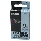 【奇奇文具】卡西歐CASIO XR-9X1 9mm×8M 明底黑字 標誌帶