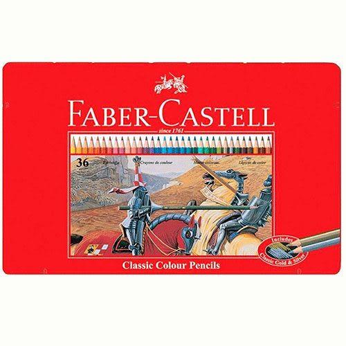 Faber-Castell油性彩色鉛筆 36色*115846