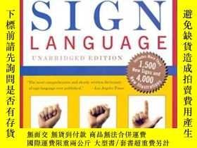 二手書博民逛書店【罕見*】American Sign Language Dict
