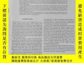 二手書博民逛書店giassy罕見pseudotachylyte veins from the fuyun fault zone ,